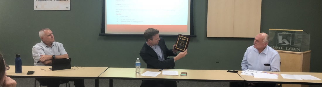 Board Honors David Ludlam For His Service