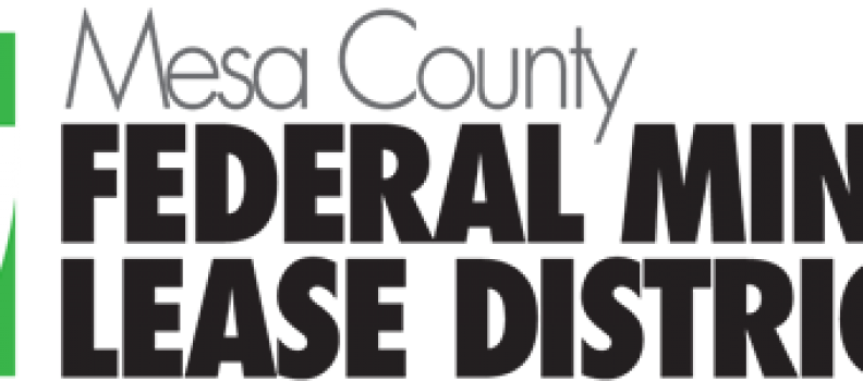 Federal Mineral Lease Dollars at Work in Mesa County