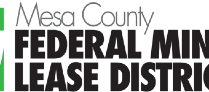 Mesa County Federal Mineral Lease District Fall 2018 Grant Cycle Open