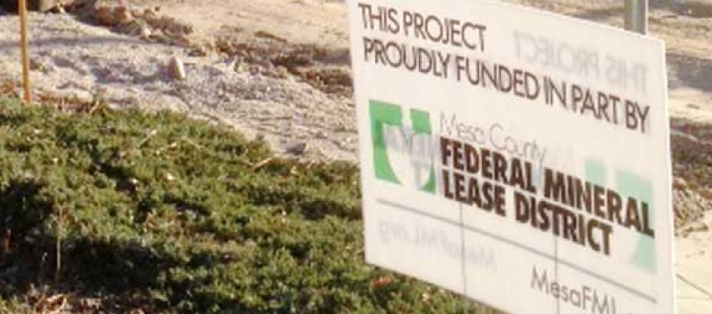 Mesa County Federal Mineral Lease District Invests Portion of Anvil Points Disbursement